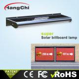 La energía solar Bañador de pared con un buen rendimiento