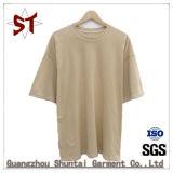 Top alta moda simples homens T shirt de manga curta
