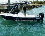 Bateaux de pêche bon marché de petit bateau de fibre de verre de Liya 4.2-7.6m à vendre