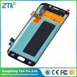 Экран мобильного телефона для индикации LCD края галактики S6 Edge/S7 Samsung