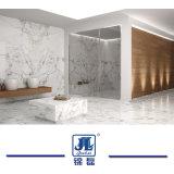 Marmo bianco naturale di Arabescato per la lastra delle mattonelle della scala della parte superiore di vanità della Tabella del controsoffitto della decorazione interna delle mattonelle della stanza da bagno della decorazione della costruzione della parete delle mattonelle di pavimentazione