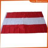 Baratos personalizados 100% poliéster Imprimir 3*5FT Austria la bandera del país