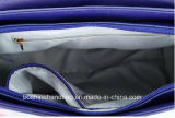 Señora decorativa Handbag de la manera del color del azul del encierro 2018 de la solapa del nudo original al por mayor del diseño de la fábrica