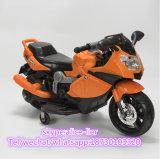 La conduite durable et à la mode de bébé sur le véhicule électrique badine la moto