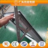 Ventana colgada superior de aluminio para el proyecto residencial del apartamento