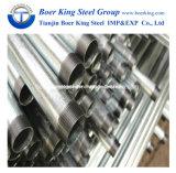 Heißes eingetauchtes galvanisiertes Stahlrohr (verlegt und verbunden)