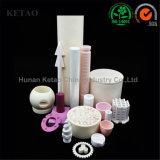 Розовый и белый высокой температуры сопротивление керамический 99% глинозема трубки