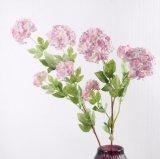 Mariage Bouquet de fleurs artificielles de la soie artificielle bon marché Hydrangea dans le commerce de gros