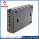 système 3W solaire Emergency rechargeable avec l'allumage de 2 ampoules