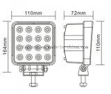Emark Offroad 반점 또는 플러드 48W 정연한 LED 일 빛 (GT1015-48W)