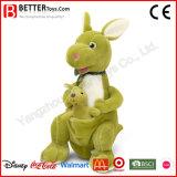 Fr71 caresser animal en peluche jouets en peluche doux pour les enfants de kangourou
