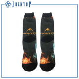 Blatt-Muster-fantastischer Mann-Socken kundenspezifisch anfertigen