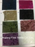 Fragmentos de tecido de veludo