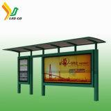 Schermo autoalimentato solare di P8 LED per la pubblicità della fermata dell'autobus