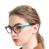Nouveau Spectacle d'arrivée d'acétate de trame de lunettes optiques spéciales de conception de cadres pour les femmes
