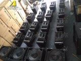 Altavoces de audio profesional de 10 pulgadas de matriz de la línea de equipos de DJ El sistema de altavoces de exterior