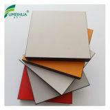 백색 색깔 10mm 방수 외면 HPL Formica 합판 제품 합판 장