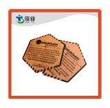 hecho personalizado de alta calidad papel de estraza Hang Tag