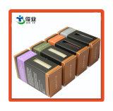 Cosméticos de la Ronda de lujo negro/papel de embalaje Caja de aceite de oliva