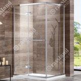 G17f21L comerciano la doccia all'ingrosso personalizzata della stanza da bagno dell'hotel di vetro Tempered di prezzi competitivi