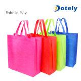 휴대용 Foldable 핸드백 큰 수용량 직물 저장 재사용할 수 있는 쇼핑 백