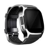 2018 Venta caliente T8 de alta calidad Reloj inteligente con la cámara GPS