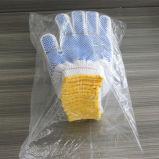 Для тяжелого режима работы порта вернулся хлопка трикотажные перчатки с ПВХ точек на упоре для рук для строительных работ