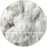 3D*51мм из переработанных Super Белый Fur-Like полиэстер Волокно штапельное