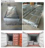 Lamiera di acciaio galvanizzata ondulata strato ondulato del tetto dello zinco della Cina