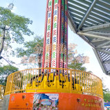 Parque de diversiones de la torre de lanzamiento, el tema de la torre de caída de parque de atracciones para la venta