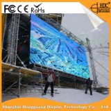 Schermo esterno dell'affitto della soluzione P4.81 LED di colore completo alto