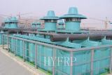 吸引、送風タイプ亜鉛電解物の冷却塔および酸霧の処置タワー