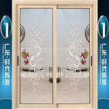 Precio competitivo Puertas correderas de aluminio con dos paneles