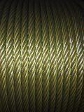 """Núcleo preto 5/8 da fibra da corda de fio de aço 6X19 """""""