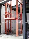 El uso industrial de la cadena de almacenes de elevación de carga