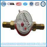 De enige StraalMeter van het Water van de Wijzerplaat DTY Dn15mm