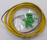 el 1m LC Upc al cable de la corrección OS2 del PVC 9/125 del LC Upc