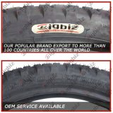 착색된 기관자전차 관이 없는 타이어 (100/90-18)