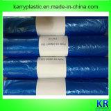 Petits sacs en plastique HDPE pliés en C Sacs à ordures en plastique avec étiquette