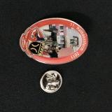 Pernos de la solapa de la divisa del Pin de la solapa del recuerdo con la insignia animal