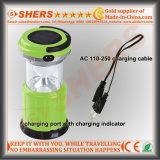 Lumière solaire extensible de 15 SMD DEL pour camper avec USB (SH-1973)