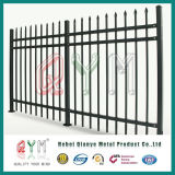 溶接された管状の鋼鉄塀の棒杭の囲いの装飾用のビニールの棒杭の囲い
