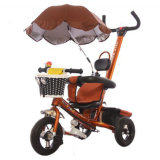 Bicicleta de tres de EVA niños de las ruedas con el paraguas