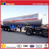 3 Axle 36-58cbm Liquidfied semi remolque del depósito de Gas Gas