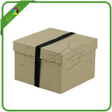 Recyeled Large Gift Box with Lid