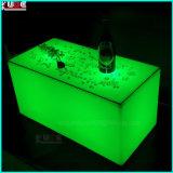 LED는 가구 LED에 의하여 조명된 정연한 테이블 KTV 테이블을 조명했다