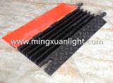 Alta qualidade 5 do protetor de borracha do cabo da canaleta rampas ao ar livre da mangueira
