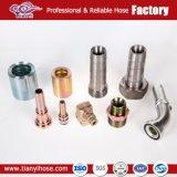 O tubo de borracha hidráulico de acoplamentos em espiral, acoplamentos de PCM, PCS Acoplamentos, virolas, Mega Acoplamentos de cravar, acoplamentos de cravar os Acopladores de Desconexão Rápida