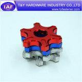 Naar maat gemaakte CNC van het Aluminium van de Delen van de Olie van het Aluminium Delen
