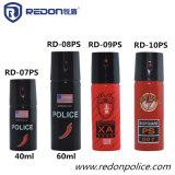 jet de déchirure de gaz lacrymogène d'autodéfense de la police 110ml